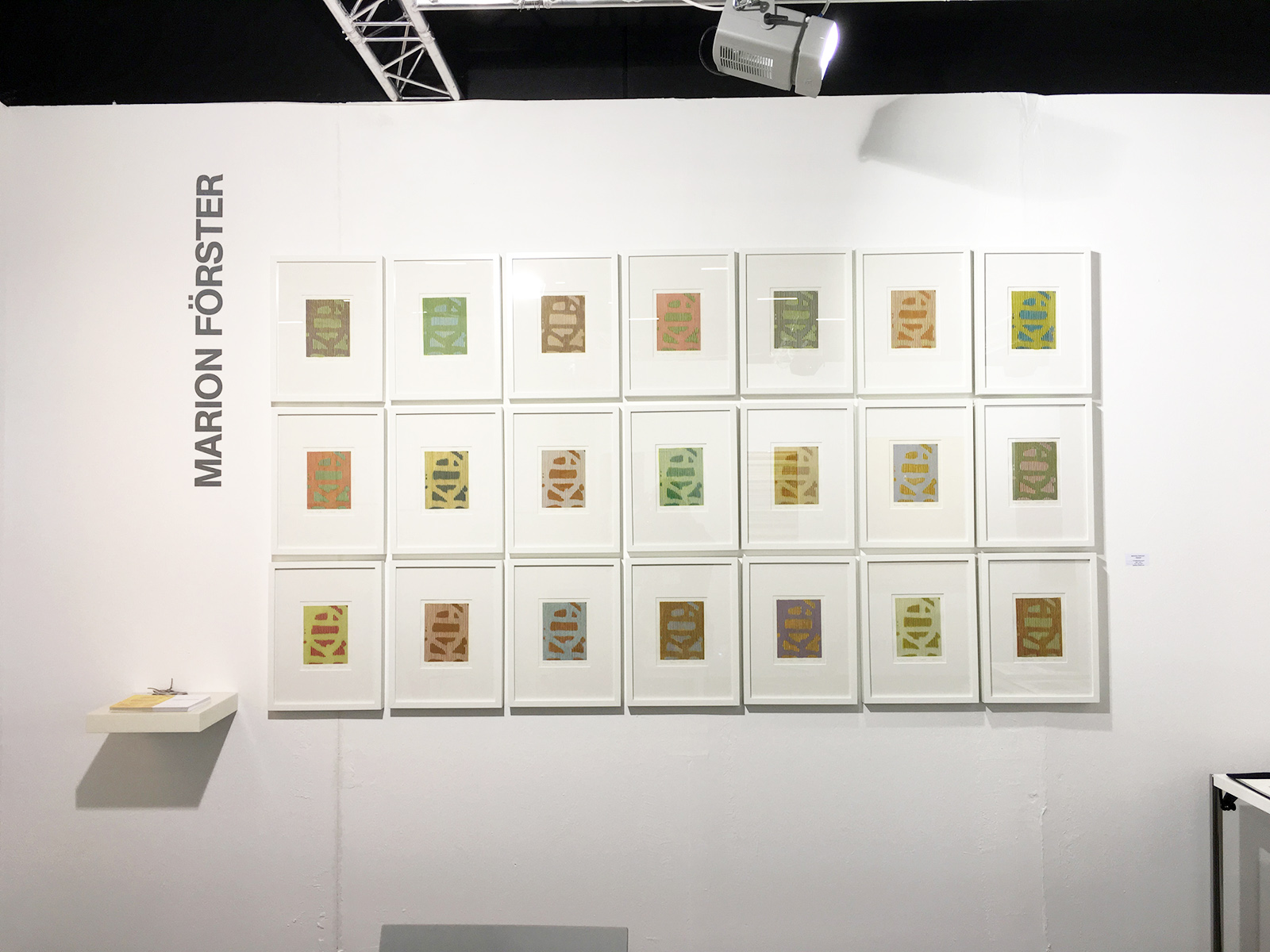 Art Salzburg Contemporary 2017 | Farbstiftzeichnungen | Marion Förster