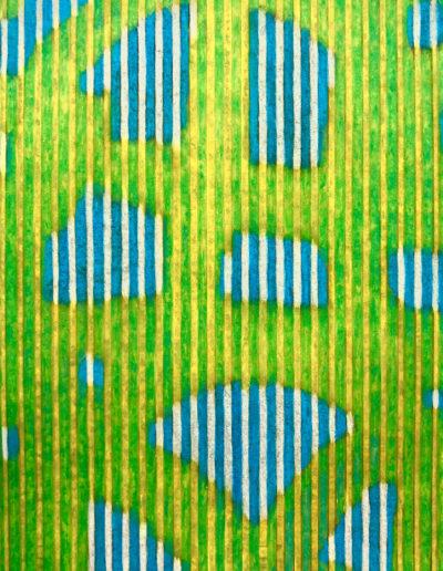 Lichtobjekt visaturé 184 | 95 x 75 x 2 cm, 16 kg | 2017 Marion Förster